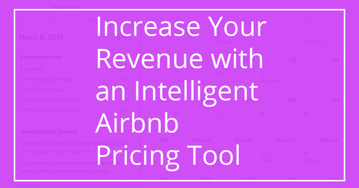 Intelligent Airbnb Pricing Tool - Expert Airbnb Hosting Tips
